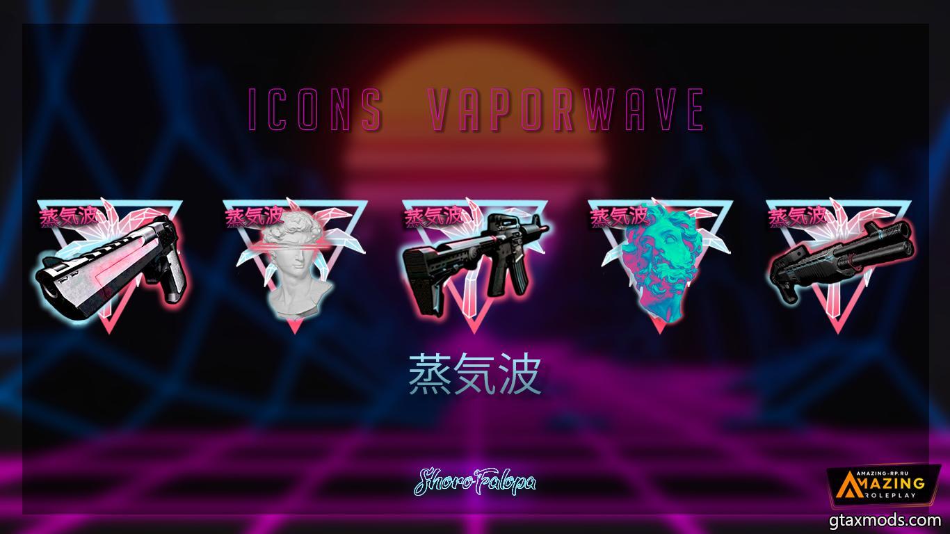 Icon Vapor Wave