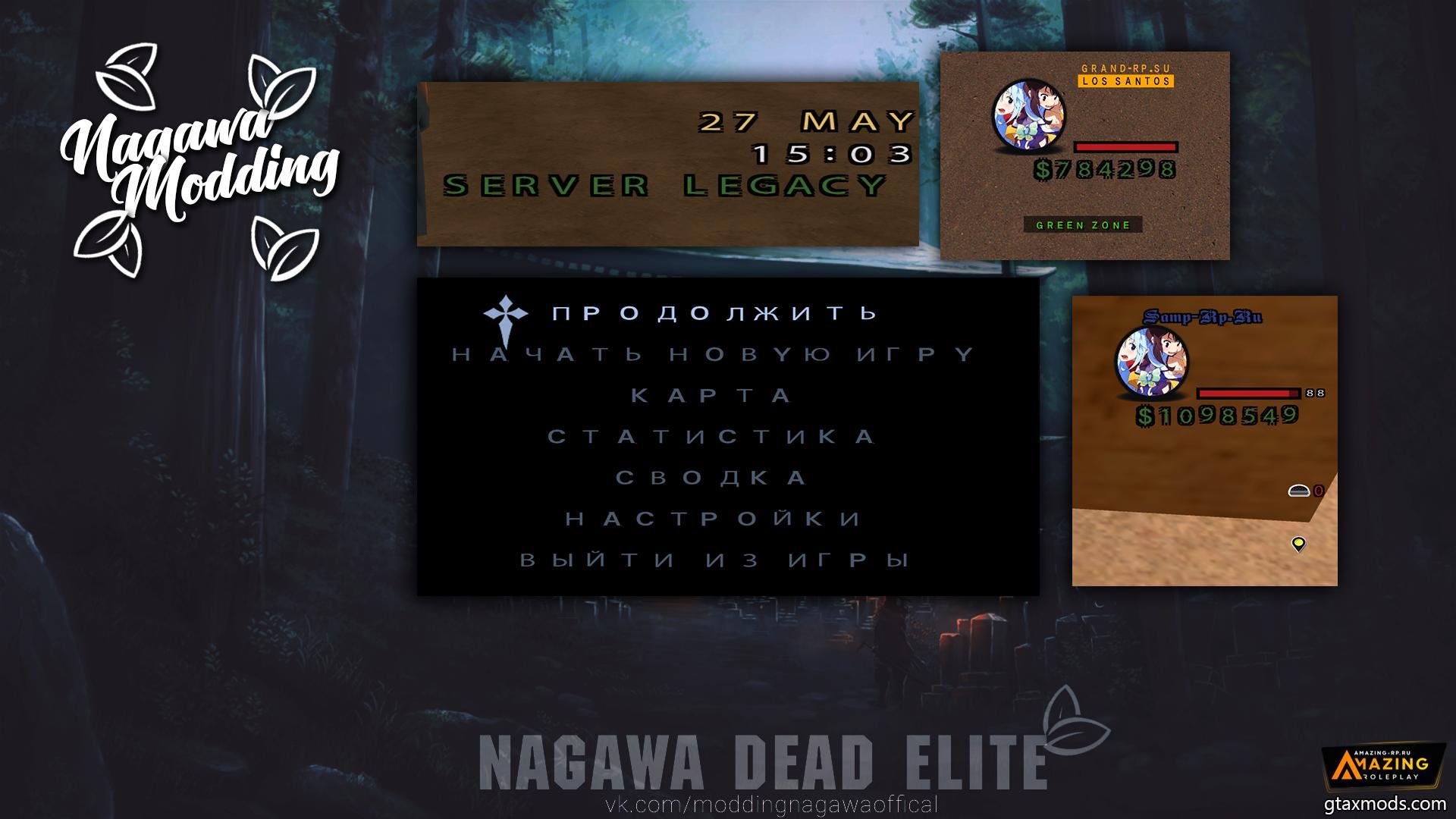Mono Fonts Nagawa Dead Elite