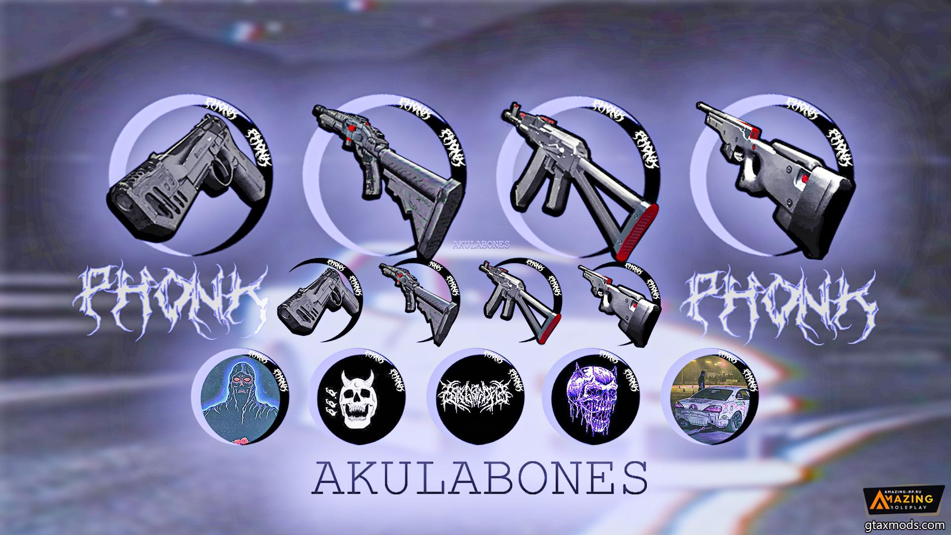• Phonk icons by AkulaBOnes