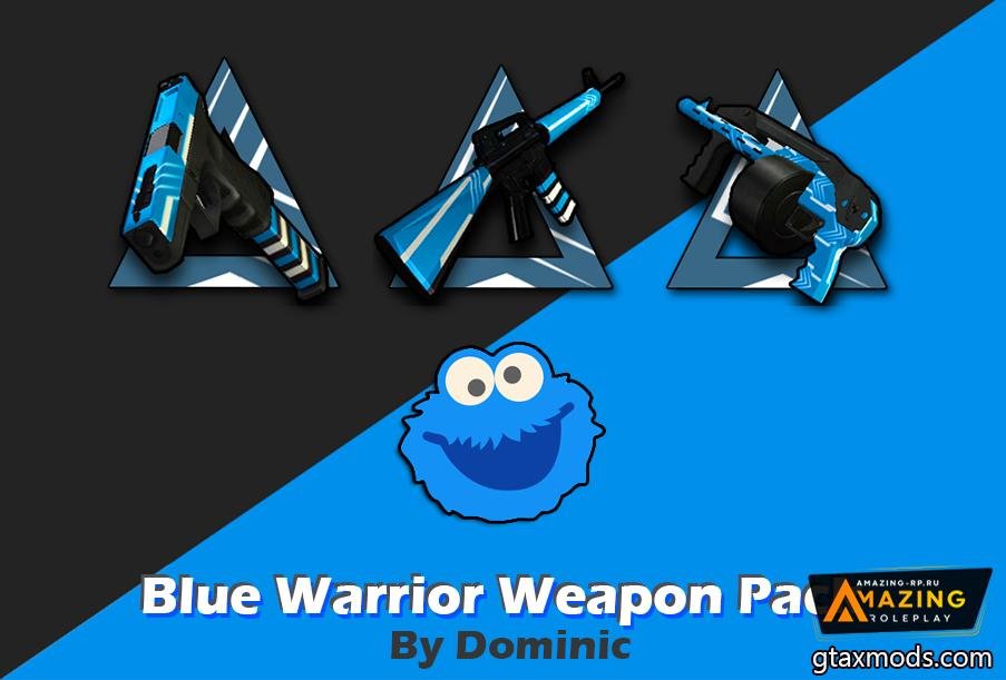 BlueWarrior Weapon Pack By DominicPz