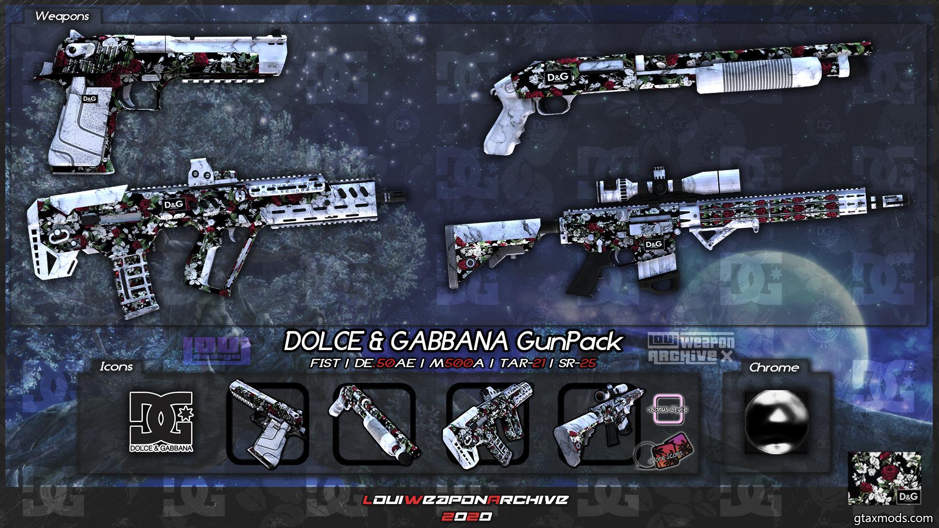 DOLCE & GABBANA GunPack [LouiWA]