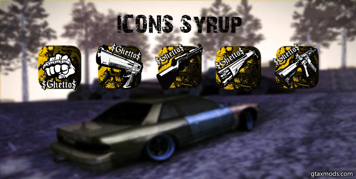 Ghetto Icons Pack   Yellow