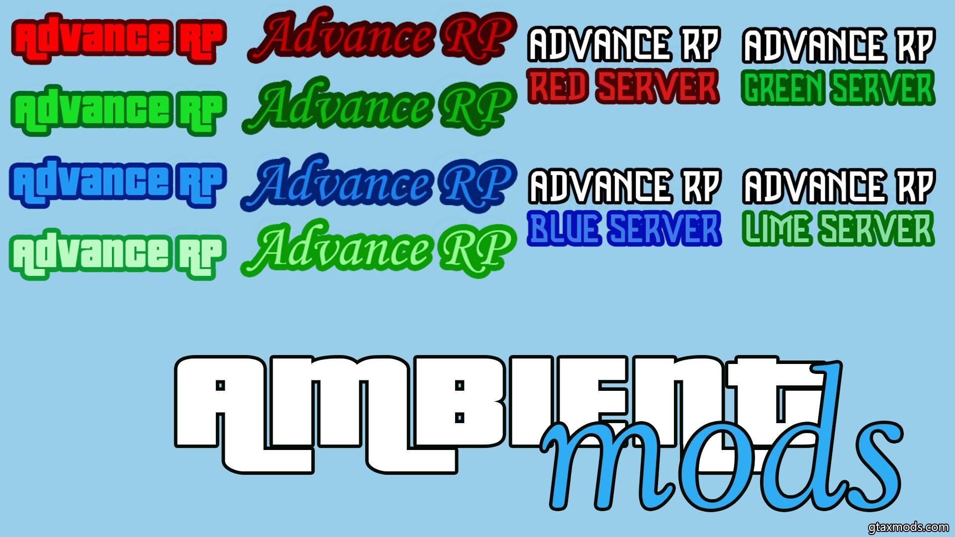 [LUA] Logo Advance RP