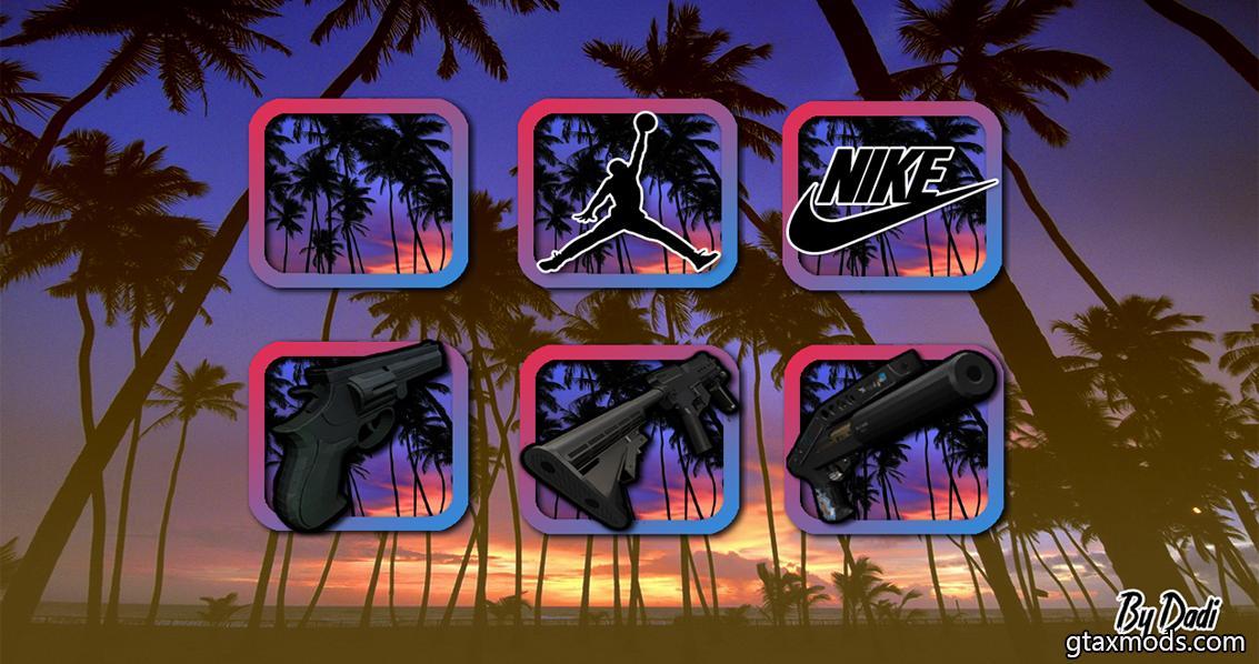 Purple Icons, Dk-Spas-M4-Fist