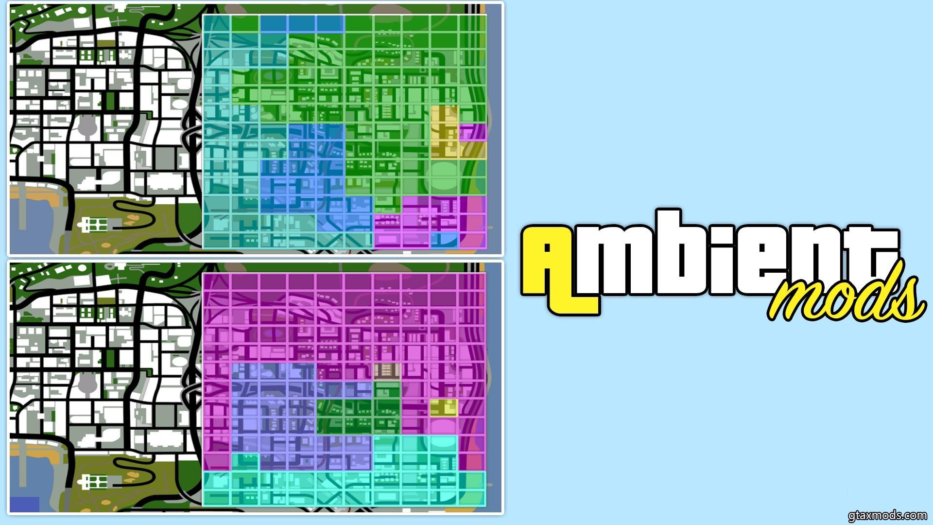 Карты с разметкой для Evolve / Arizona