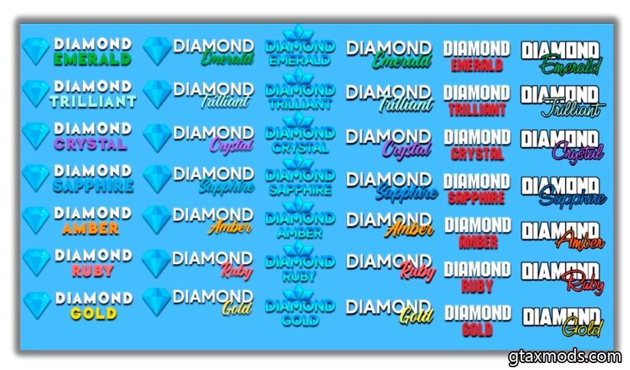 Логотипы Diamond RP