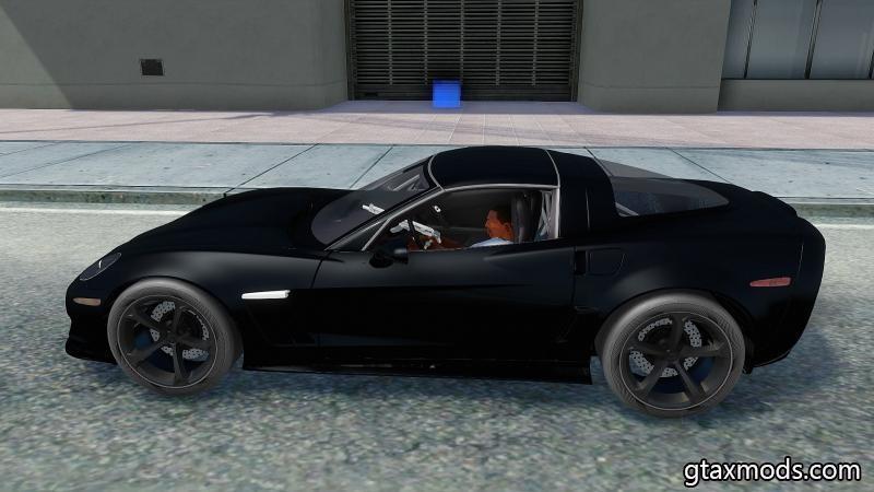 2010 Chevrolet Corvette Grand Sport TT Black Revel