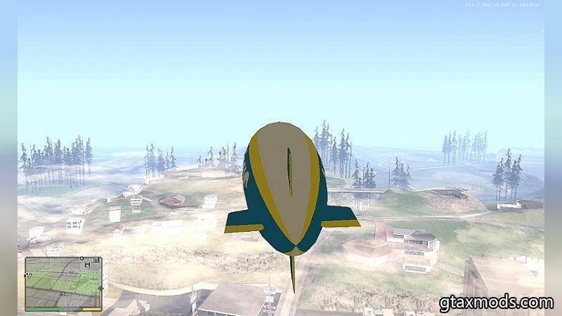 Дирижабль из GTA 5