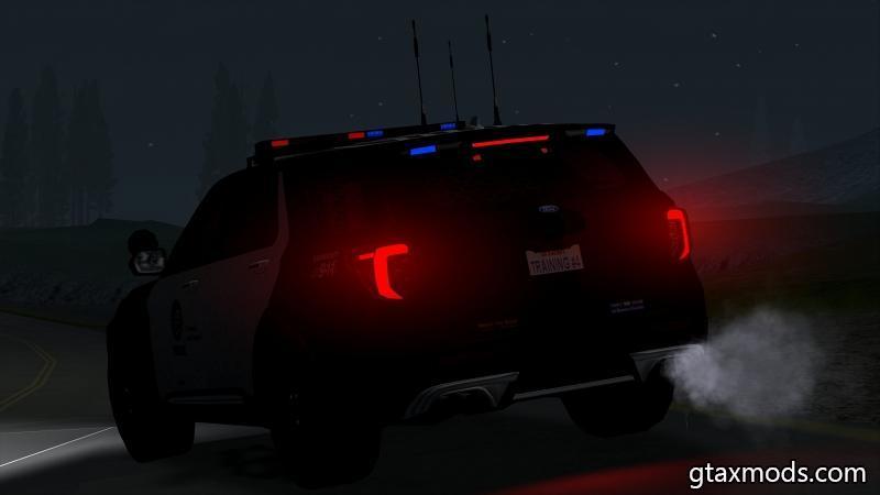 Ford Explorer 2020 LAPD [IVF]
