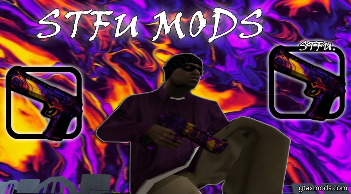 Цветной Дигл (STFU & MODS)