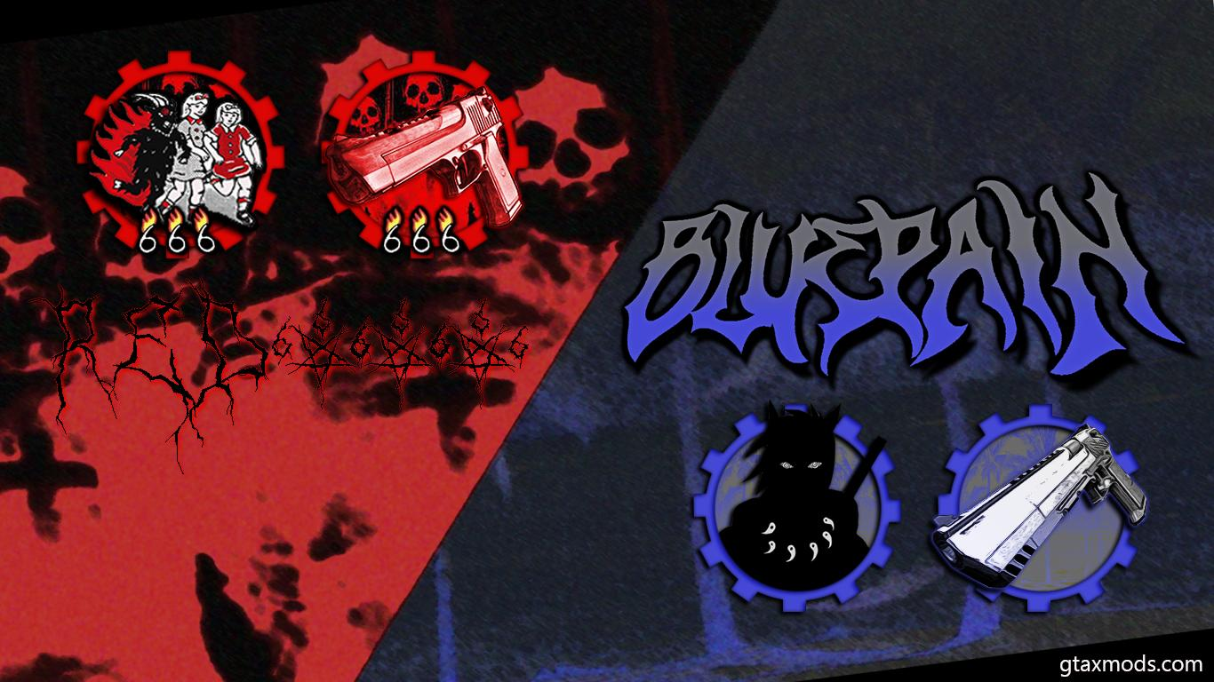ICONS RED666 x BLUEPAIN by.lov