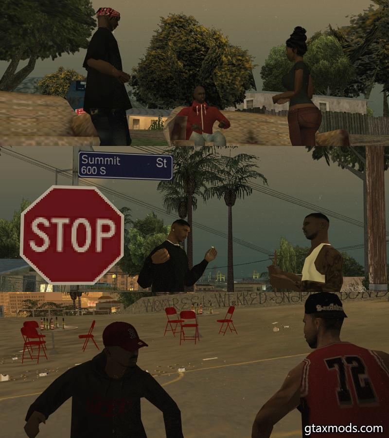 Valley Gangster Bloods Skinpack