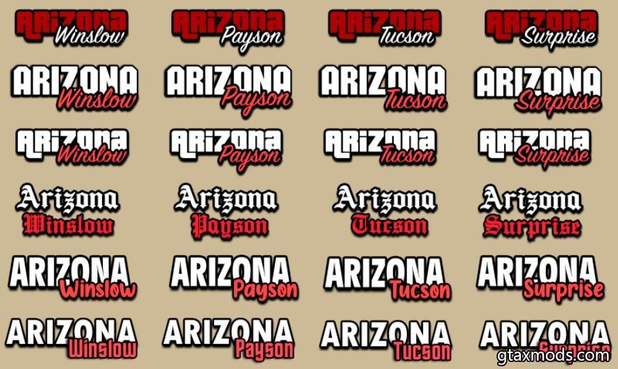 [LUA] Logo Arizona RP by Ambient Mods