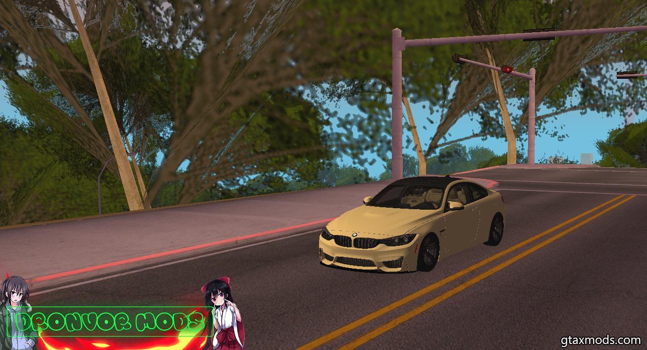 BMW M4 2 doors