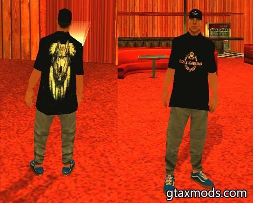 Wolf T-shirt Wmypizz