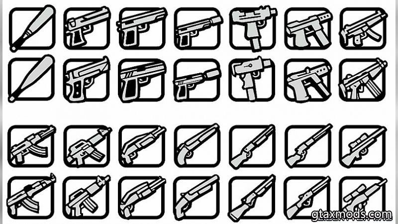 Standart Icons +guns | PC and Mobile