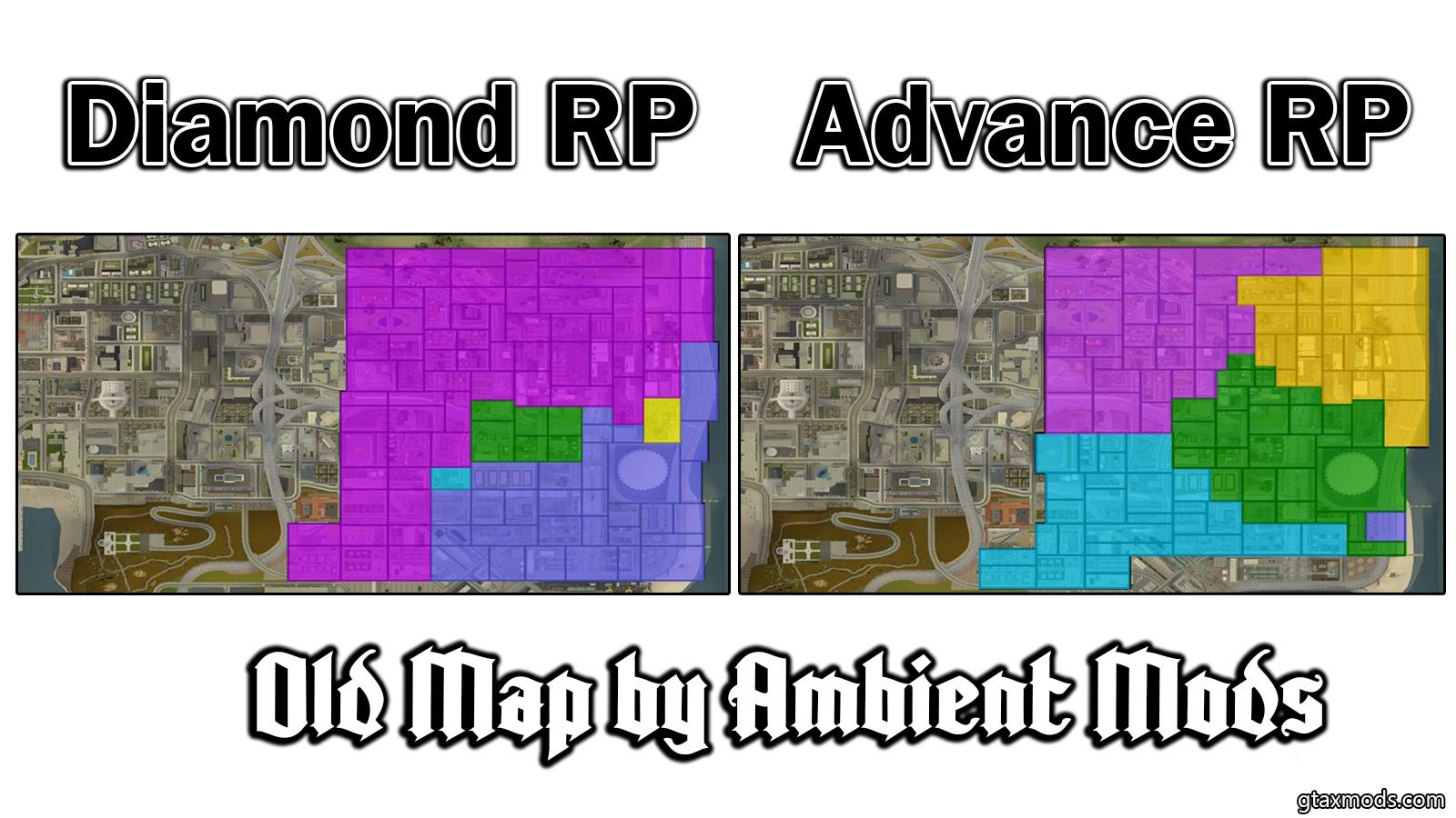 Old Map Diamond RP and Advance RP