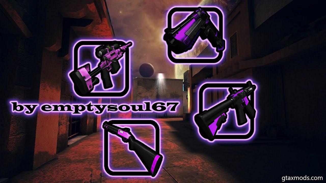 Purple Gunpack