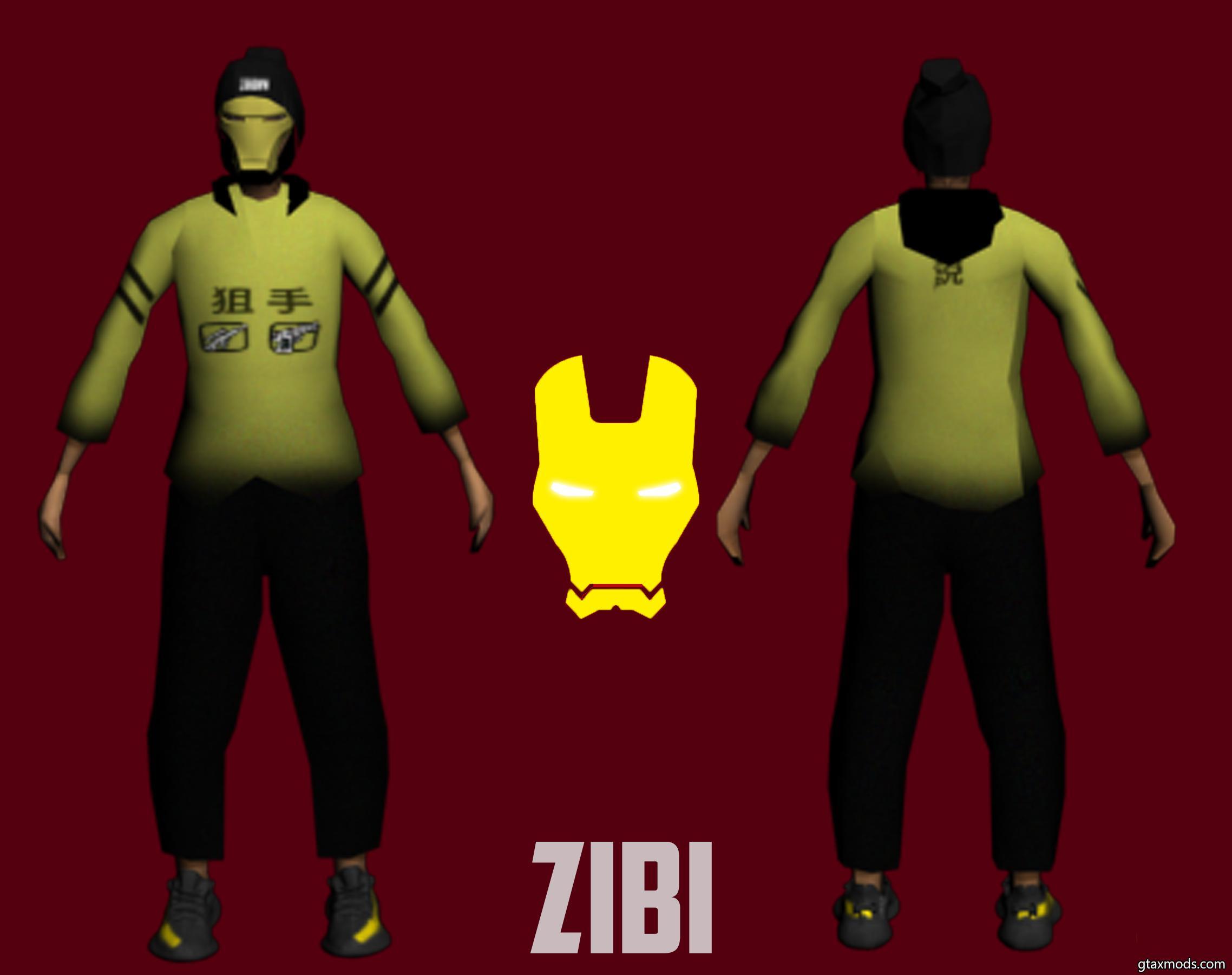 zibi skin | short ironman skin