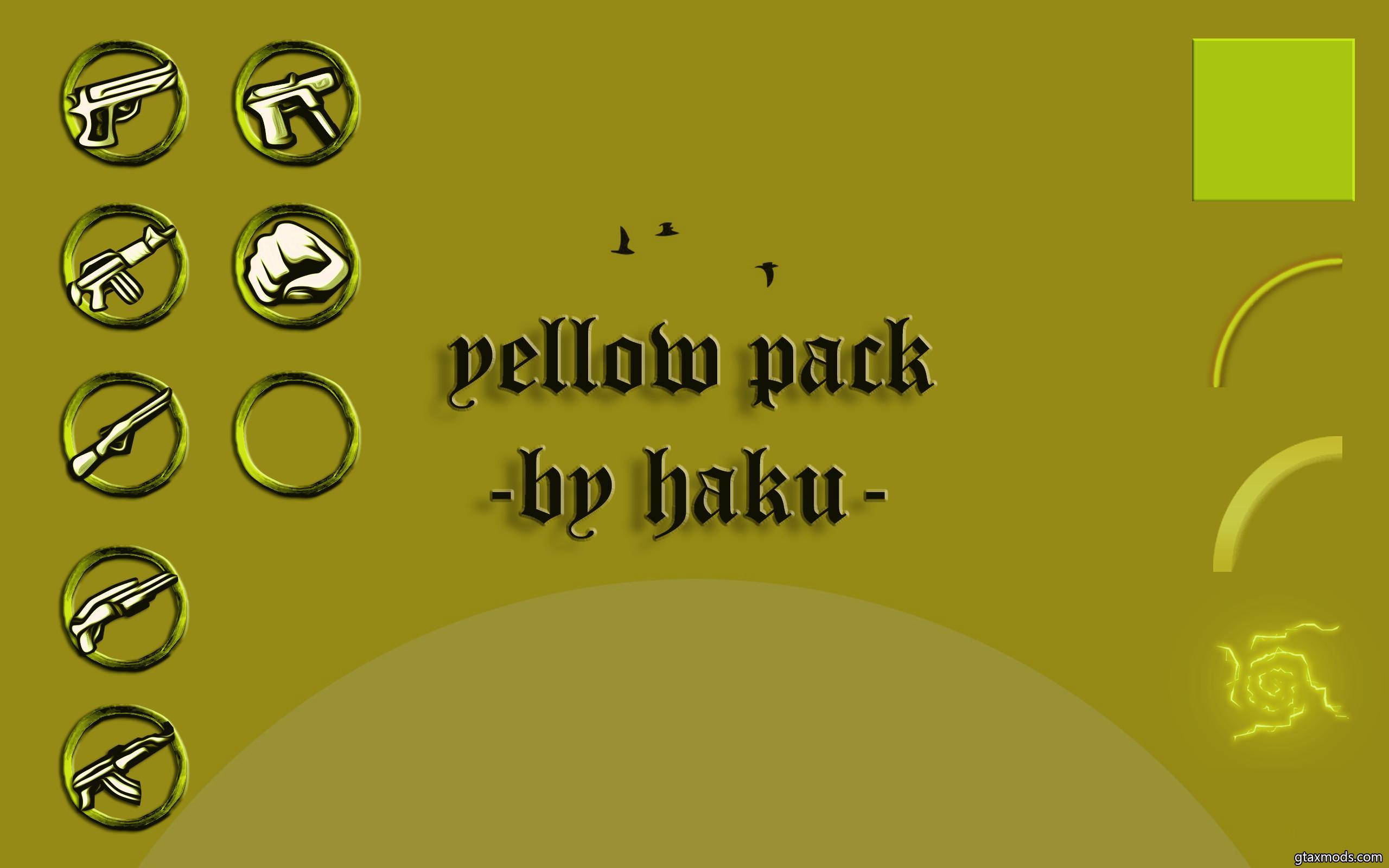 YELLOW PACK BY HAKU V1