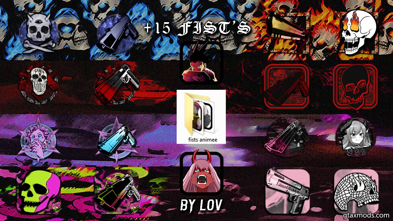 IconsPack +15 Fist's by lov