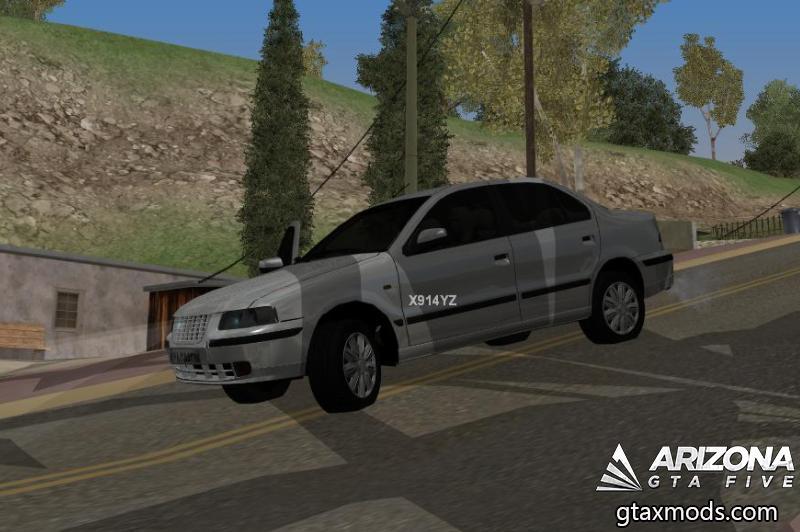 Ikco Samand LX Ef7