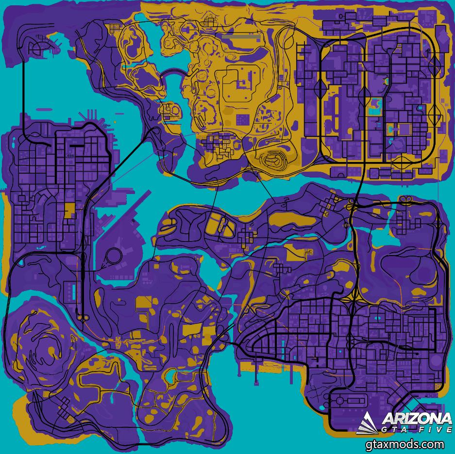 Карта в сепии
