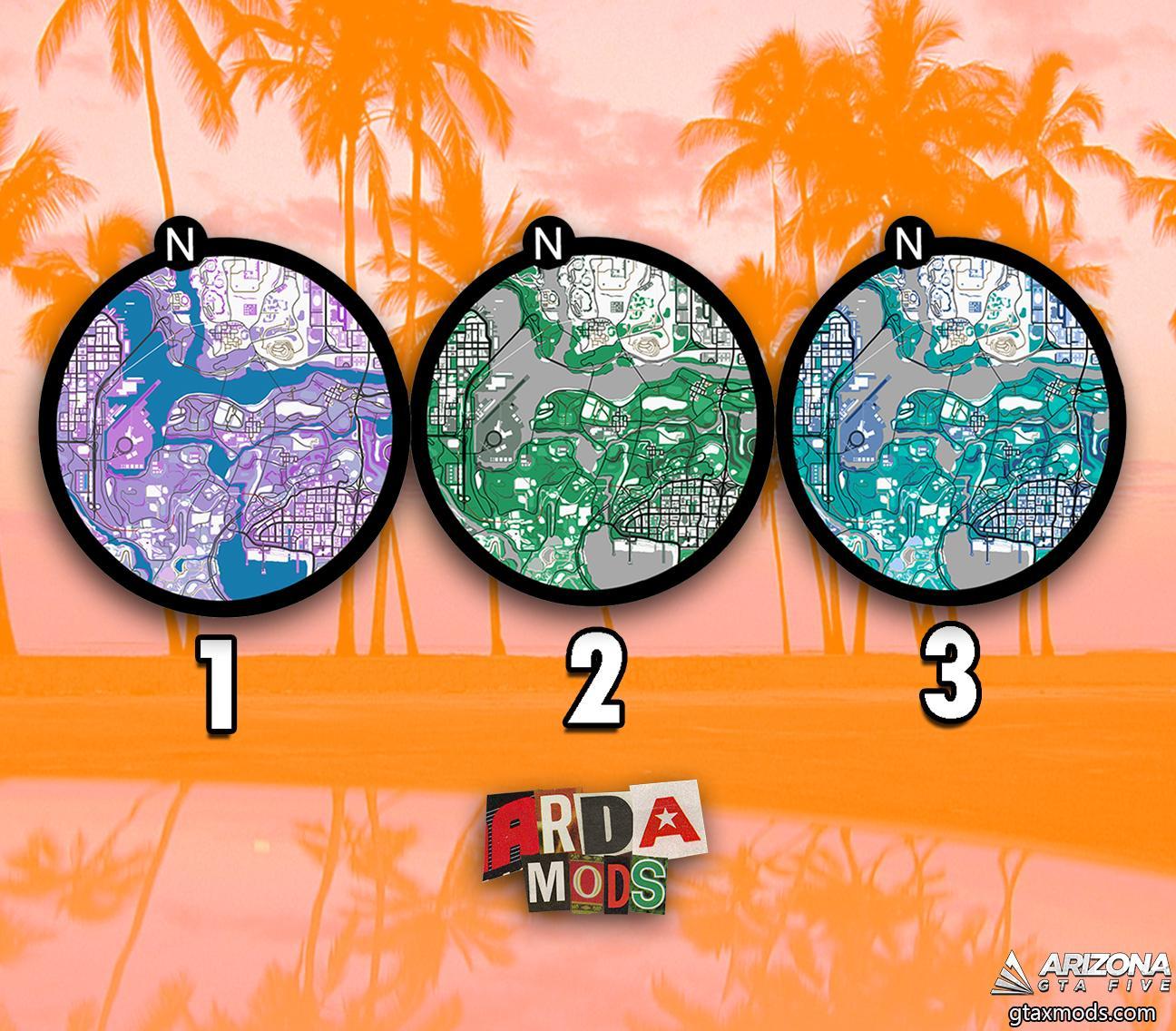 MAP | ARDA MODS