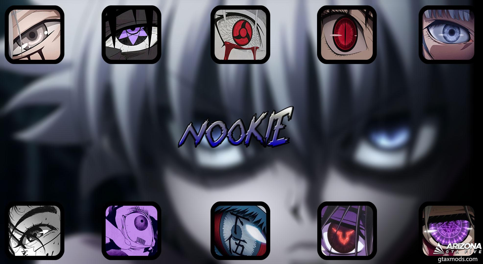 ANIME EYES FIST PACK BY NOOKIE