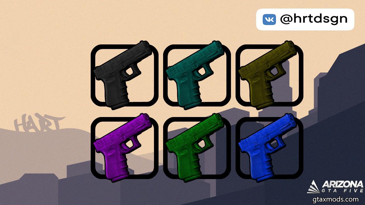 [HQ] Glock-18   6 Colors